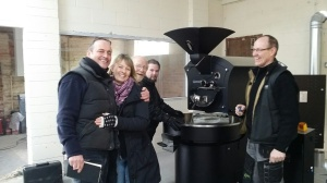 New coffee roaster just arrived